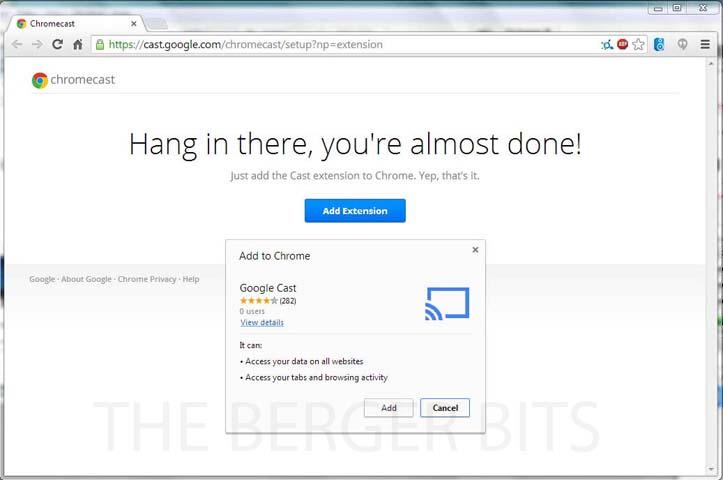 Review – Google Chromecast – The Berger Bits