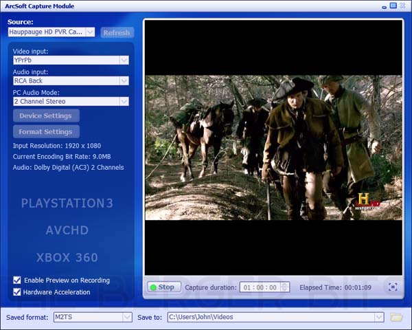 Hd Pvr Recording Software