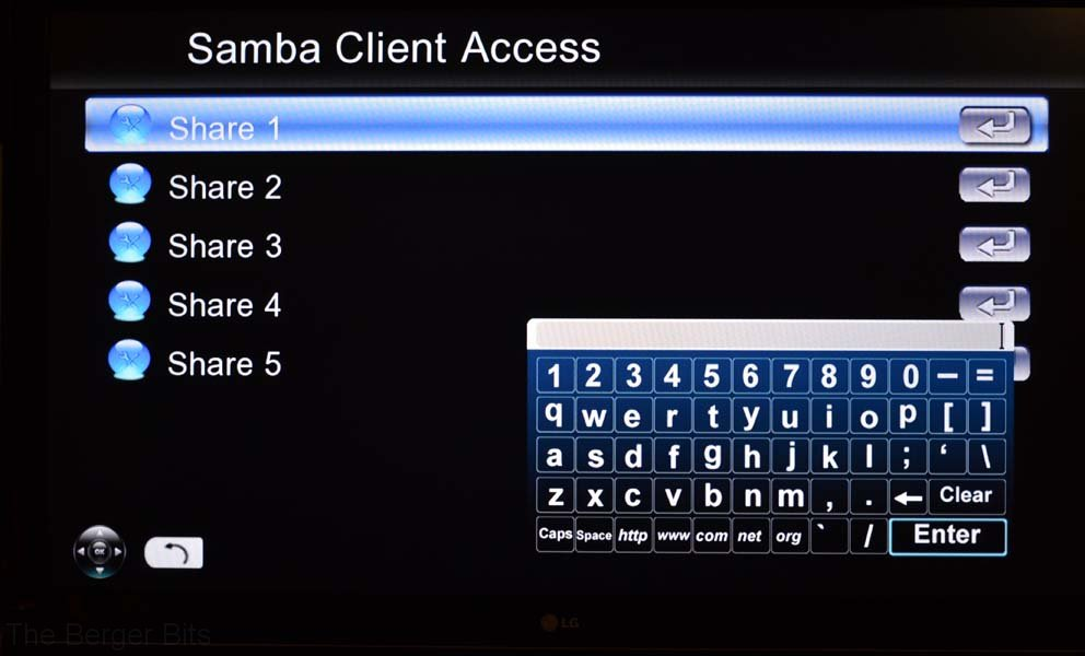 Showing the software keyboard