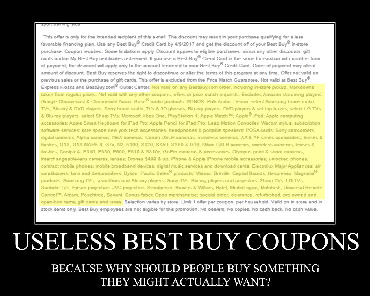 Best BuyStupid 2017